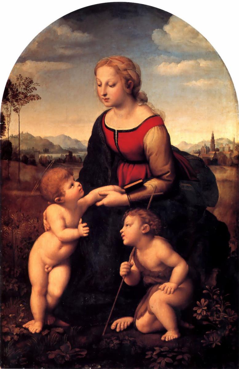 Рафаэль Санти. Женщина с детьми
