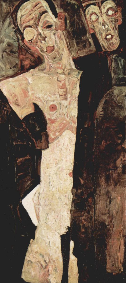 Egon Schiele. The prophet