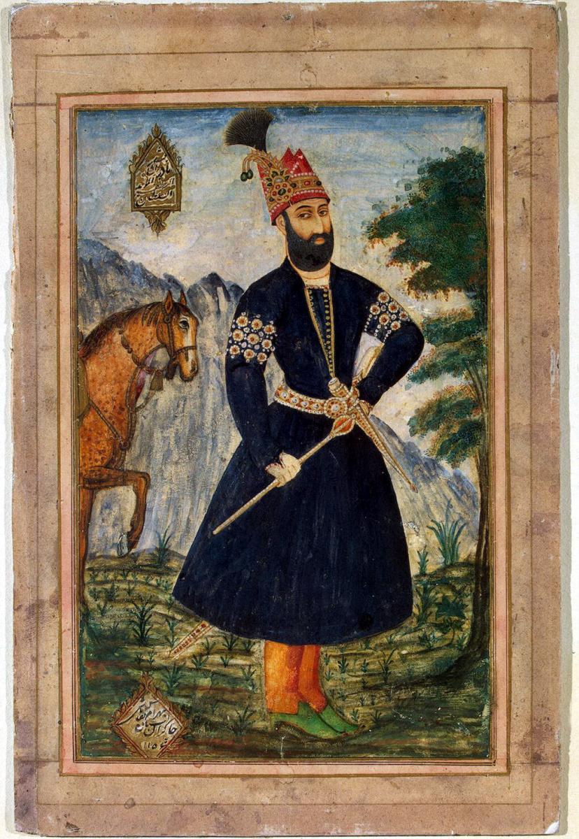 Бахрам. Портрет Надир-Шаха