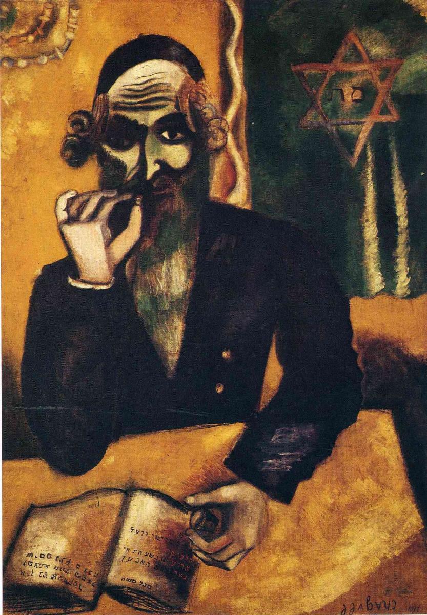 Марк Шагал. Понюшка табака (1912)