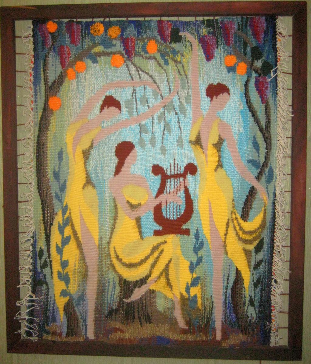 Olga Suncheleeva. Dance (tapestry)