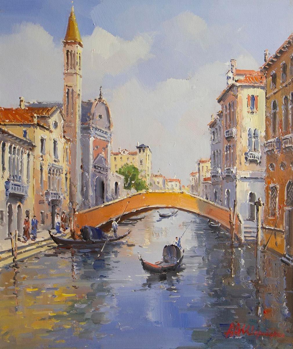 Andrey Sharabarin. Dreams of Venice N47