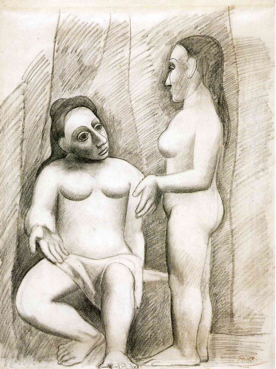 Пабло Пикассо. Раннее творчество