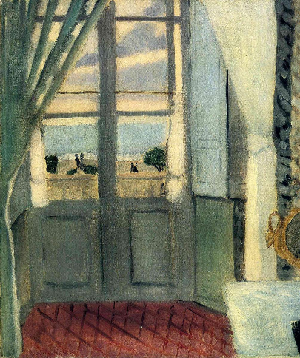Henri Matisse. The balcony door