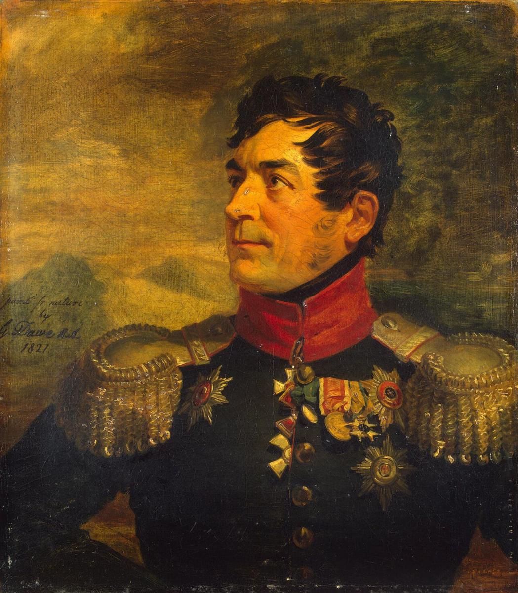 George Dow. Portrait of Georgiy Arsenievich Emanuel