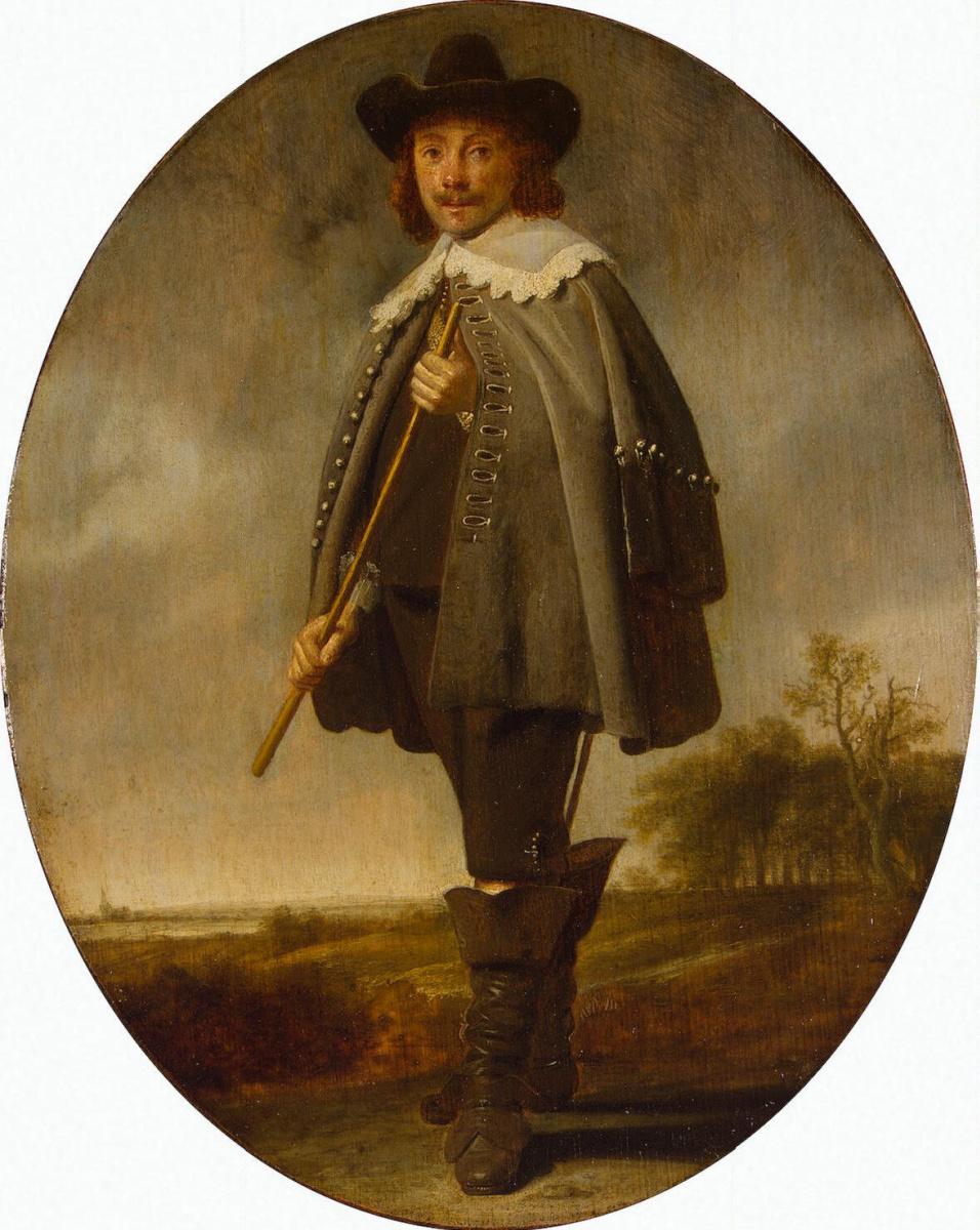Симон Кик. Мужской портрет