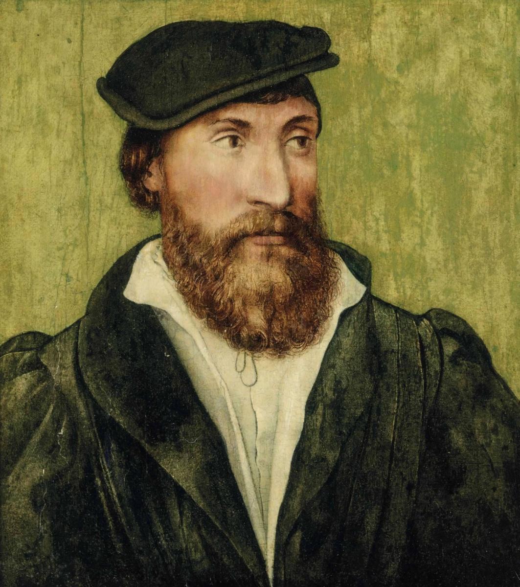 Unknown artist. Male portrait. XVII century