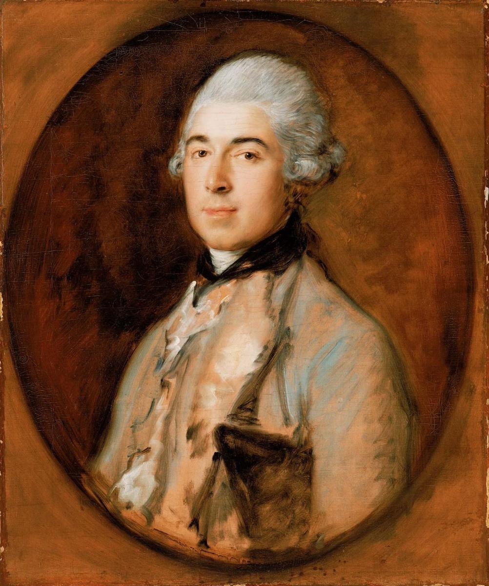 Thomas Gainsborough. Captain Thomas Matthews