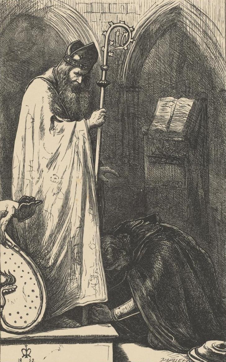 Джон Эверетт Милле. Епископ и рыцарь