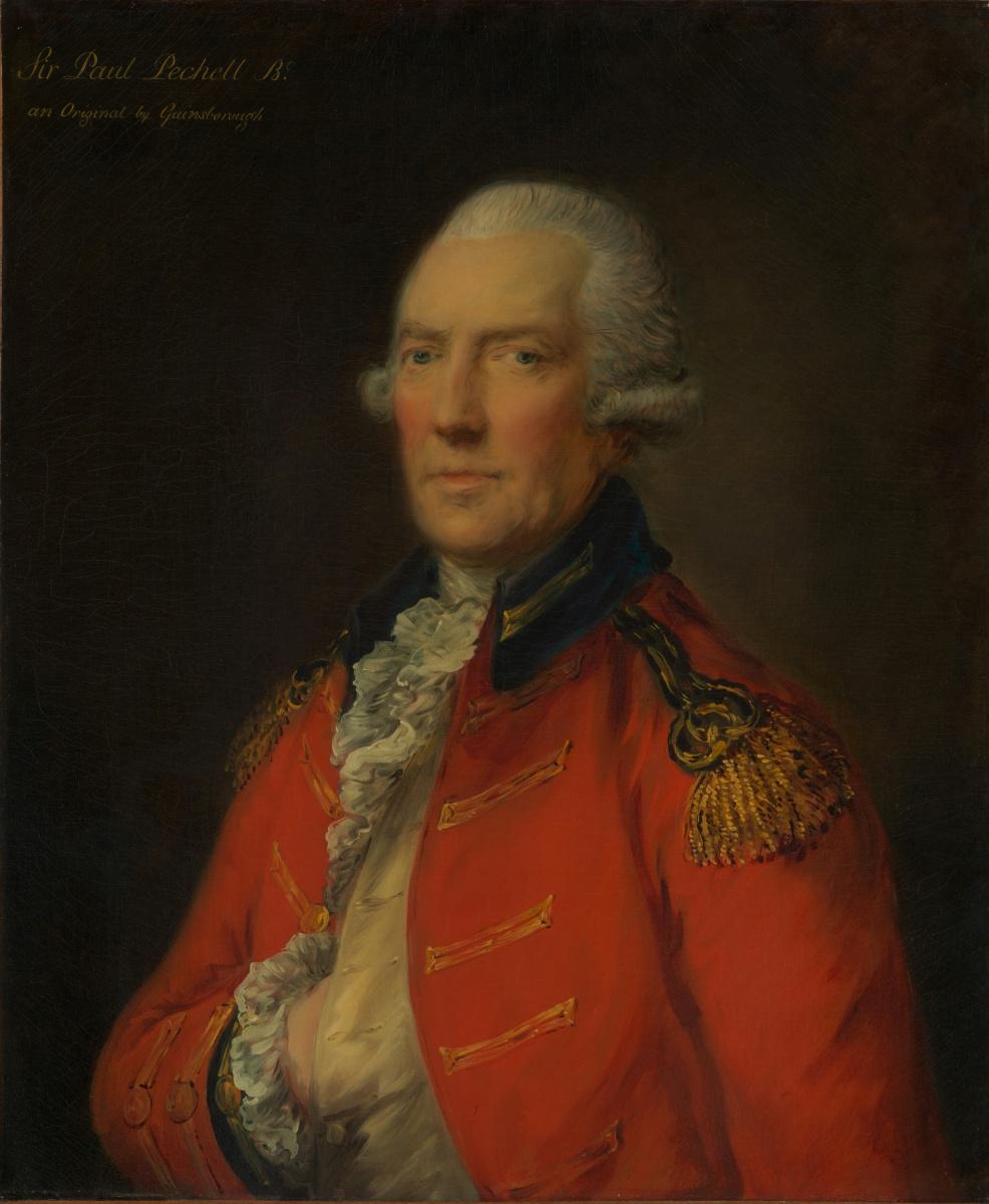 Томас Гейнсборо. Подполковник Пол Печелл