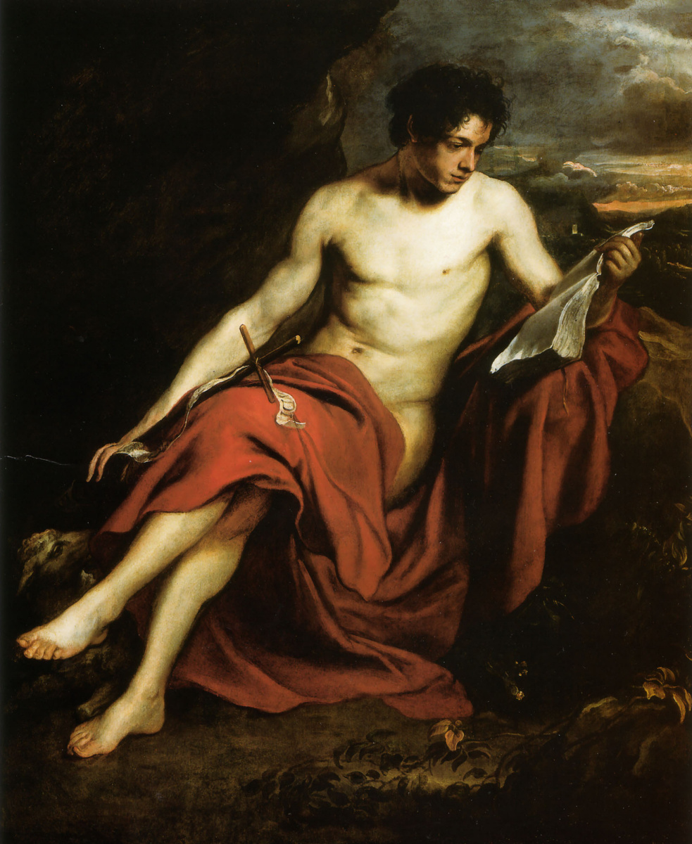 Anthony van Dyck. St. John the Baptist in the wilderness