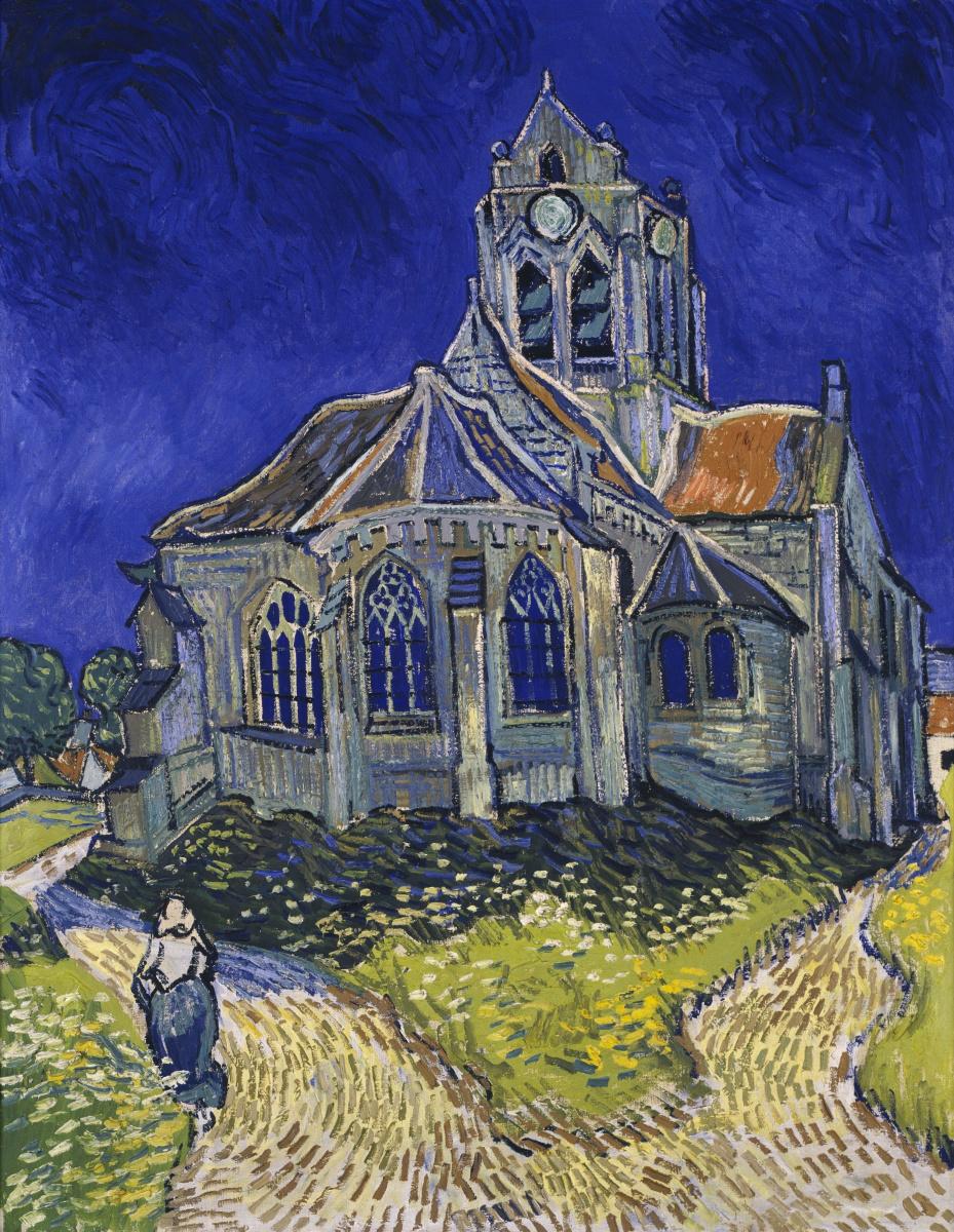 Винсент Ван Гог. Церковь в Овере