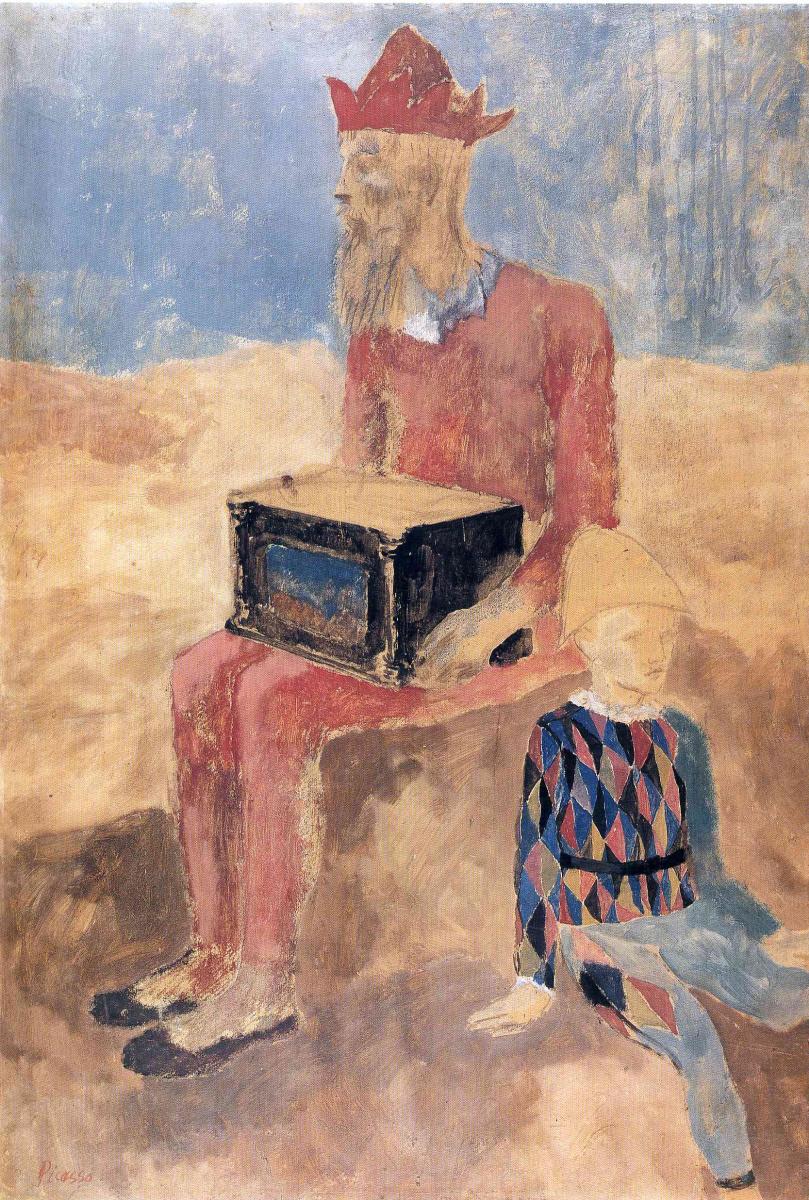 Пабло Пикассо. Харди Гарди