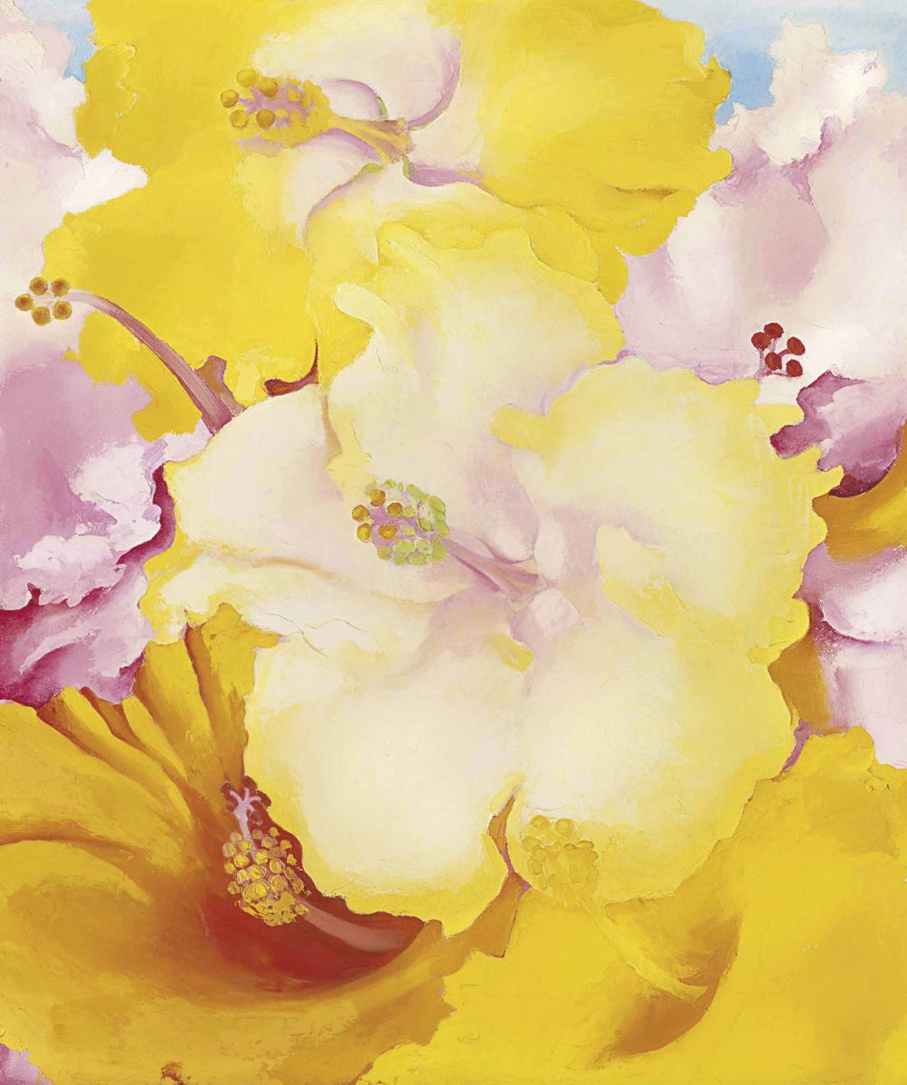 Georgia O'Keeffe. Hibiscus