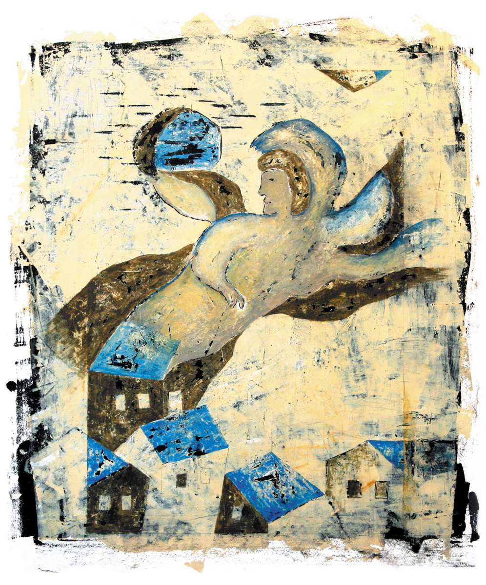 Sofya Vladimirovna Pak. The angel over the rooftops