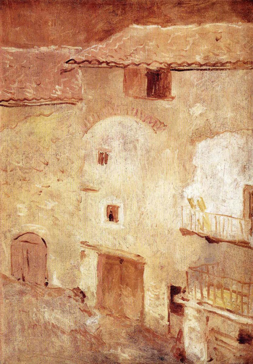 Пабло Пикассо. Дома в Госоле