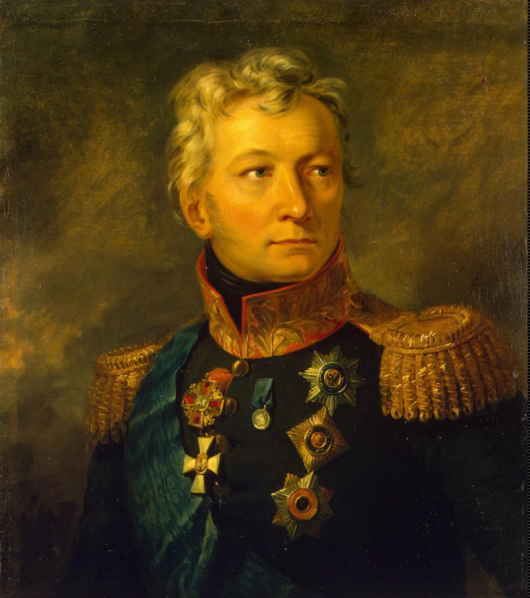 Джордж Доу. Портрет Александра Петровича Тормасова