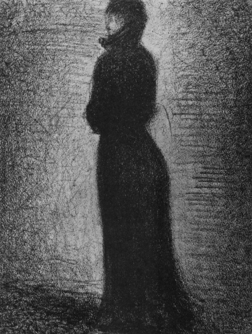 Жорж Сёра. Дама в черном
