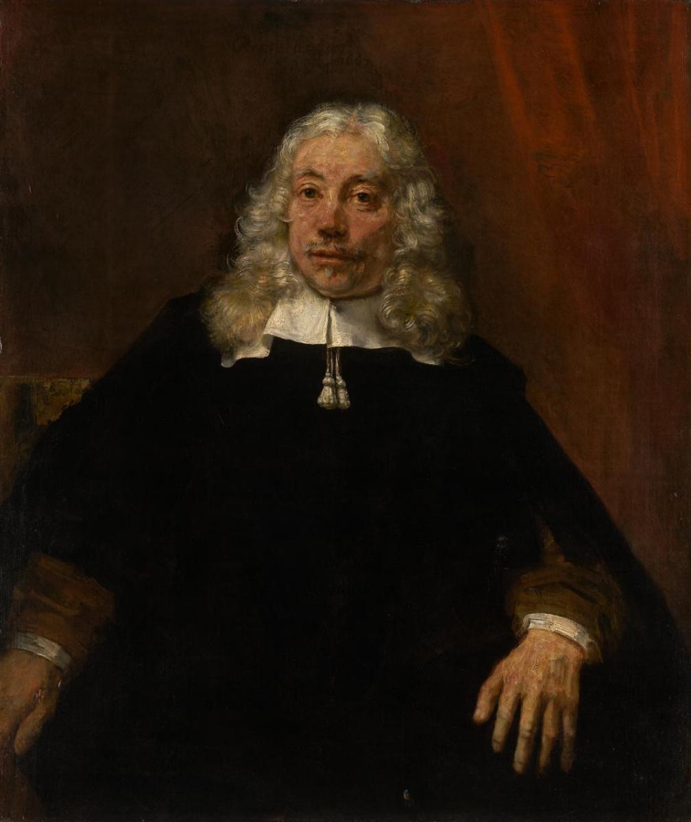 Рембрандт Харменс ван Рейн. Портрет светловолосого мужчины