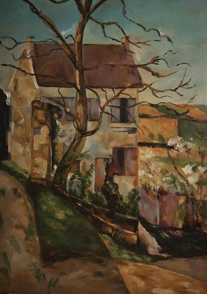 Inga Kotlyarskaya. Free copy (P. Cezanne)