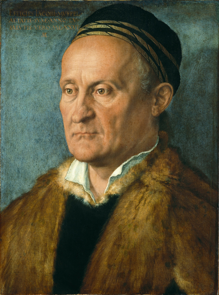 Albrecht Durer. Portrait Of Jacob Muffel