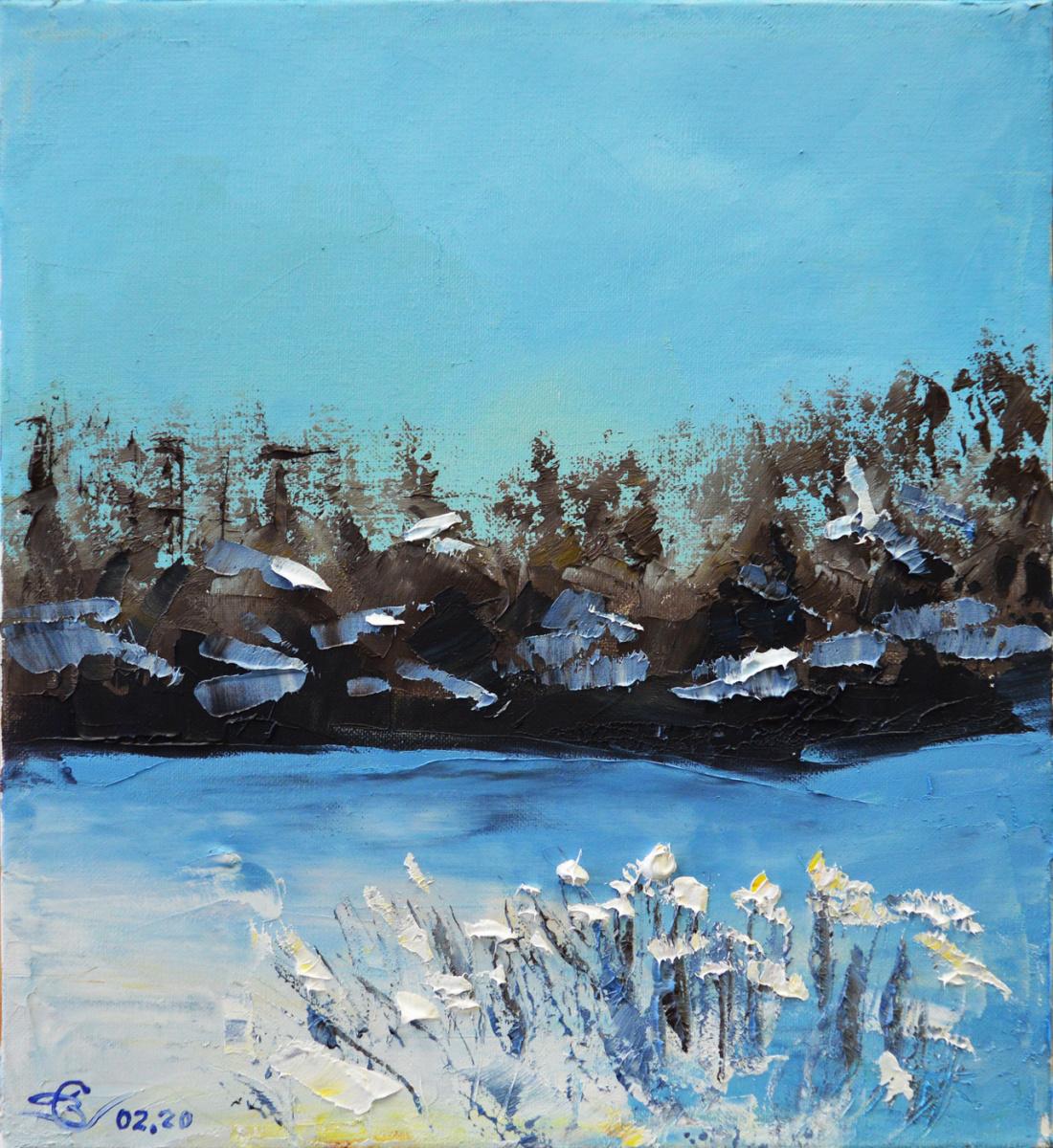 Vadim Anatolyevich Stolyarov. Winter bush