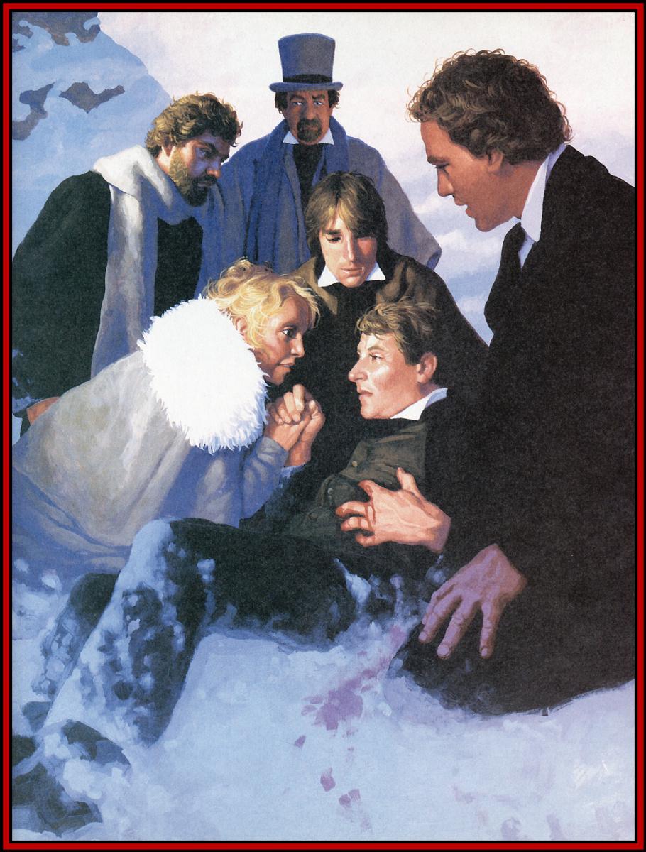 Грег Хильдебрандт. На снегу