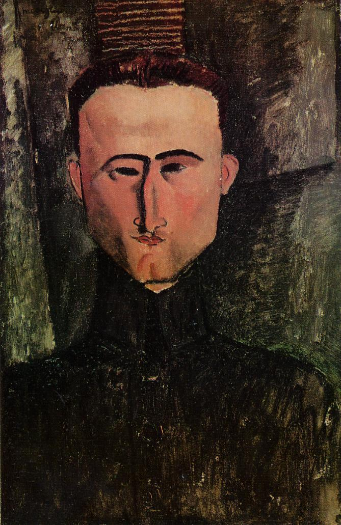 Amedeo Modigliani. Portrait Of Andre Rouveyre