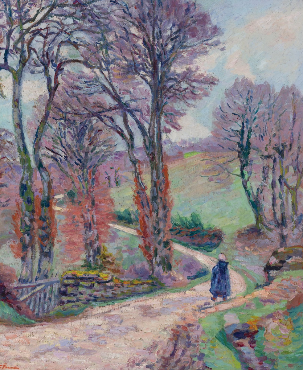 Armand Guillaumin. Landscape in Creuse