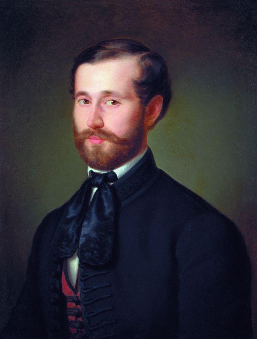 Михай Либ Мункачи. Портрет торговца Дьёрда Керстинджера