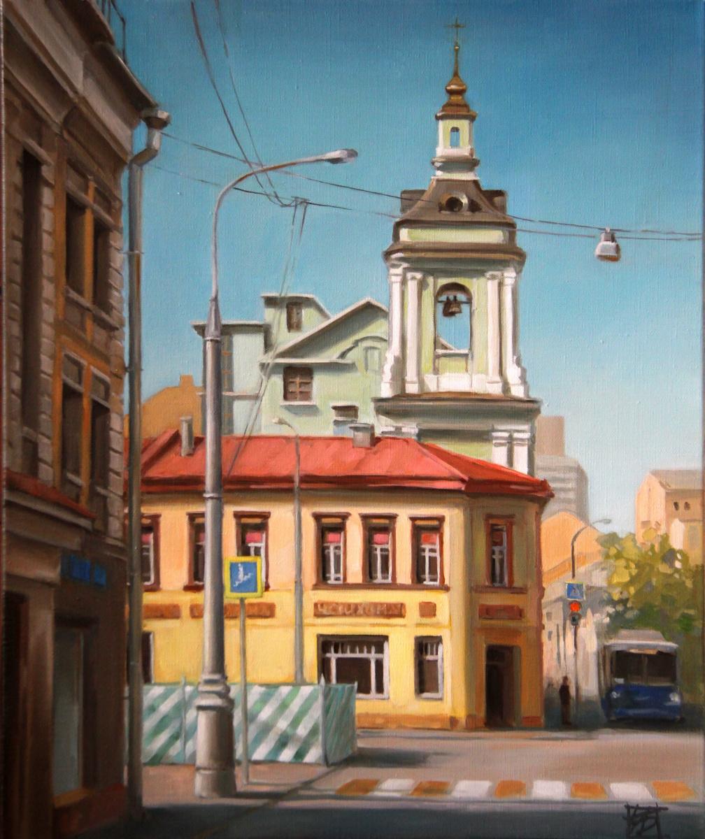 Irina Bogdanova. Morning on Pokrovka