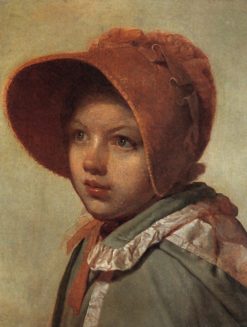 Алексей Гаврилович Венецианов. Портрет А. А. Венециановой, дочери художника