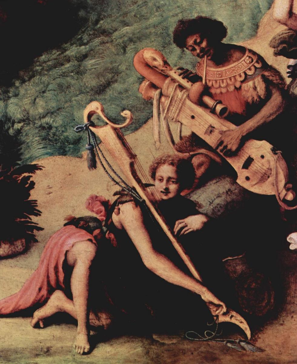 Пьеро ди Козимо. Персей освобождает Андромеду. Деталь: Музыканты