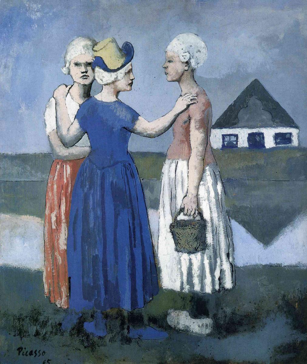 Пабло Пикассо. Три голландки