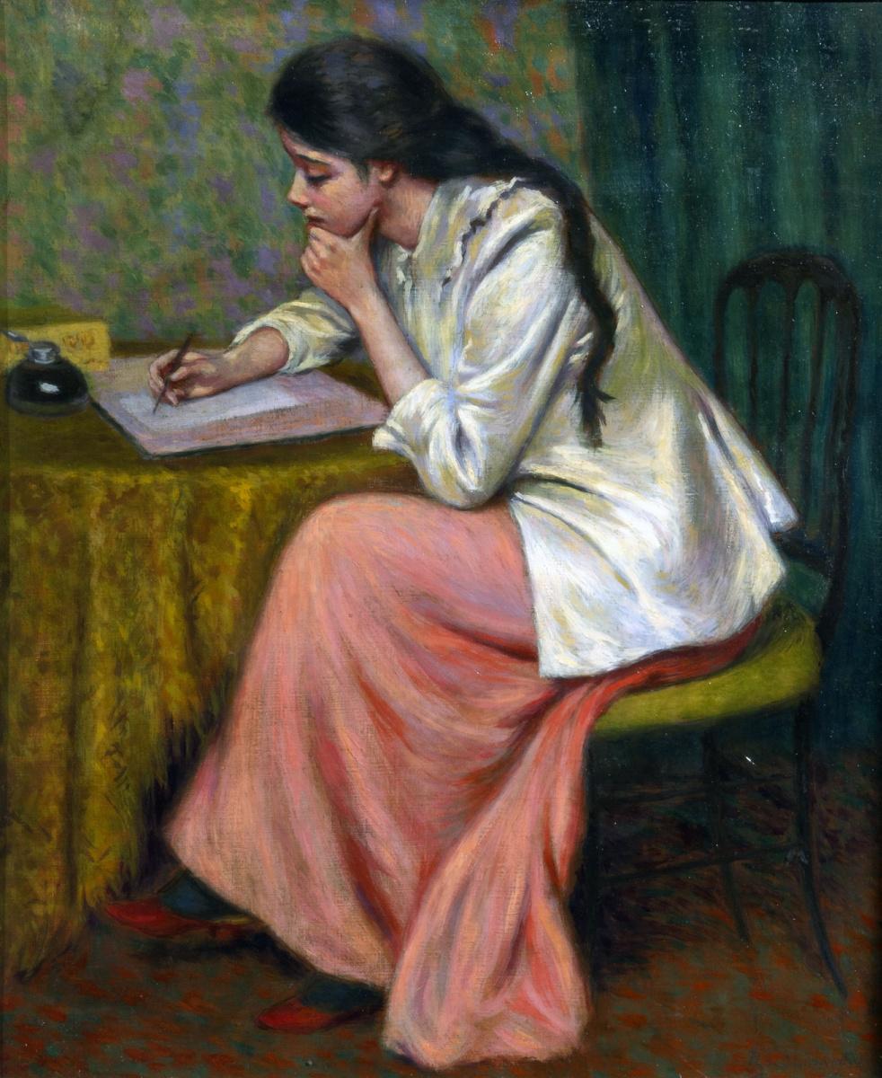 Federico Zandomenegi. Letter