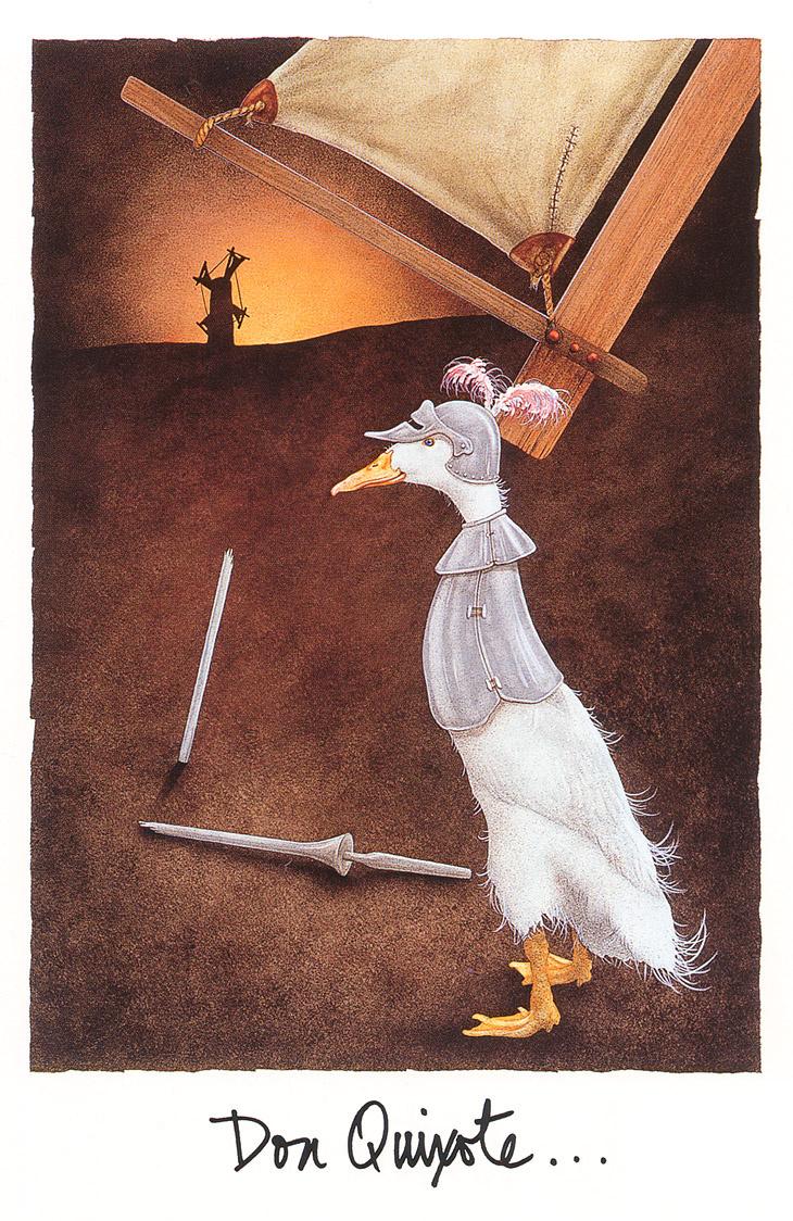 Will Bullas. Don Quixote