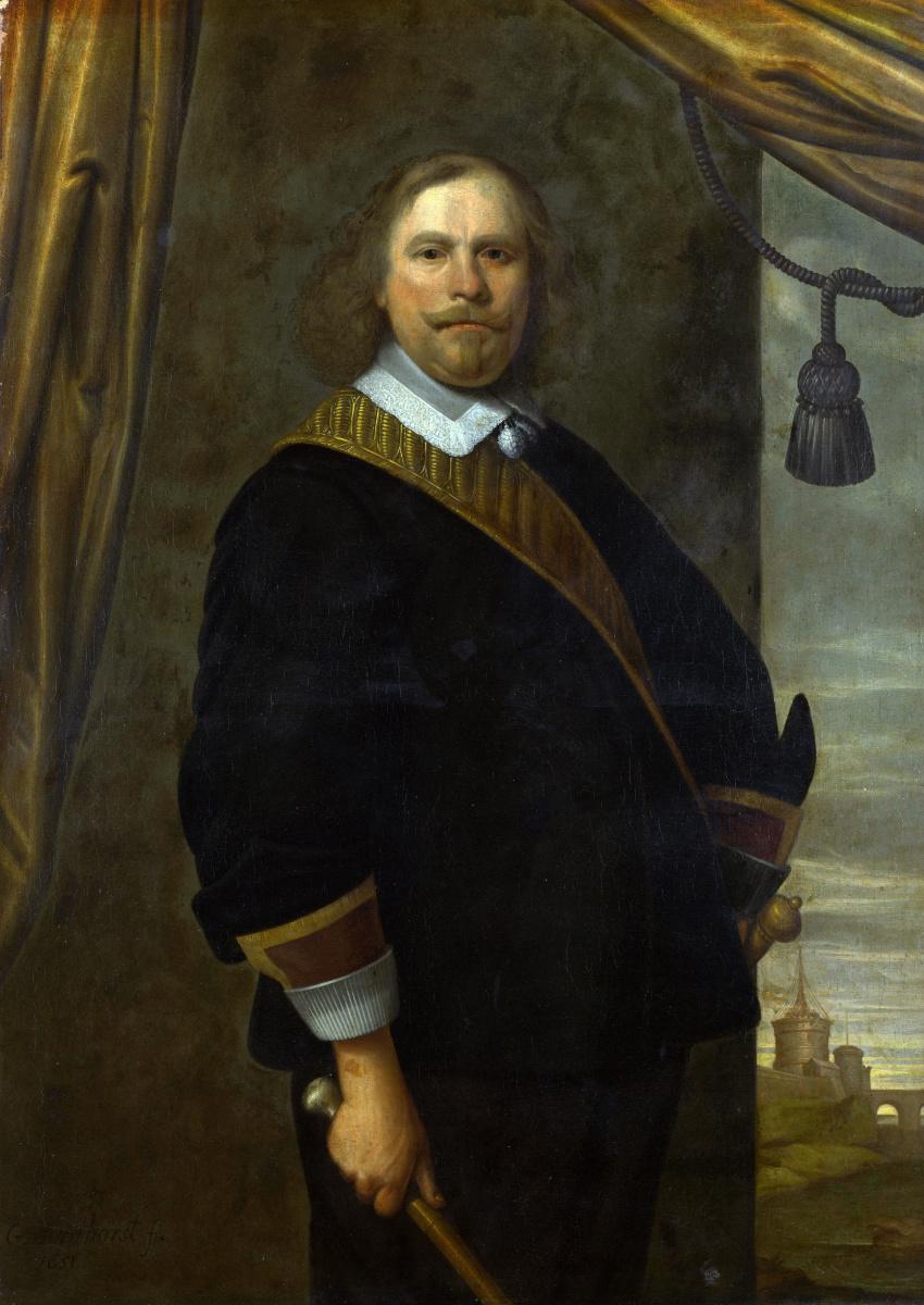 Цезарь ван Эвердинген. Портрет голландский командующий