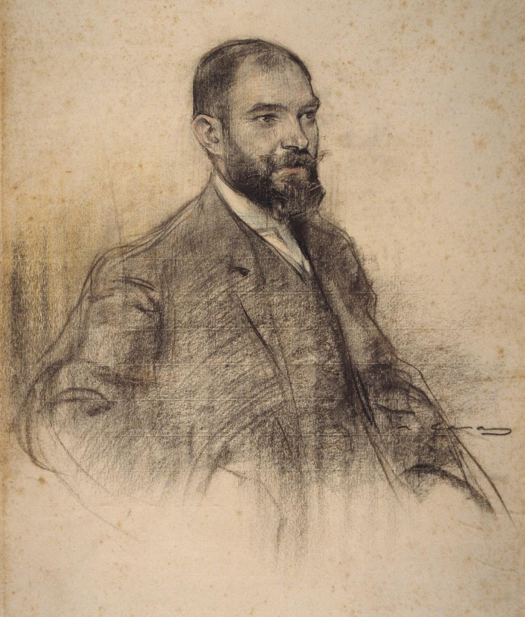 Рамон Касас Карбо. Портрет Бартоломеу Аменгью