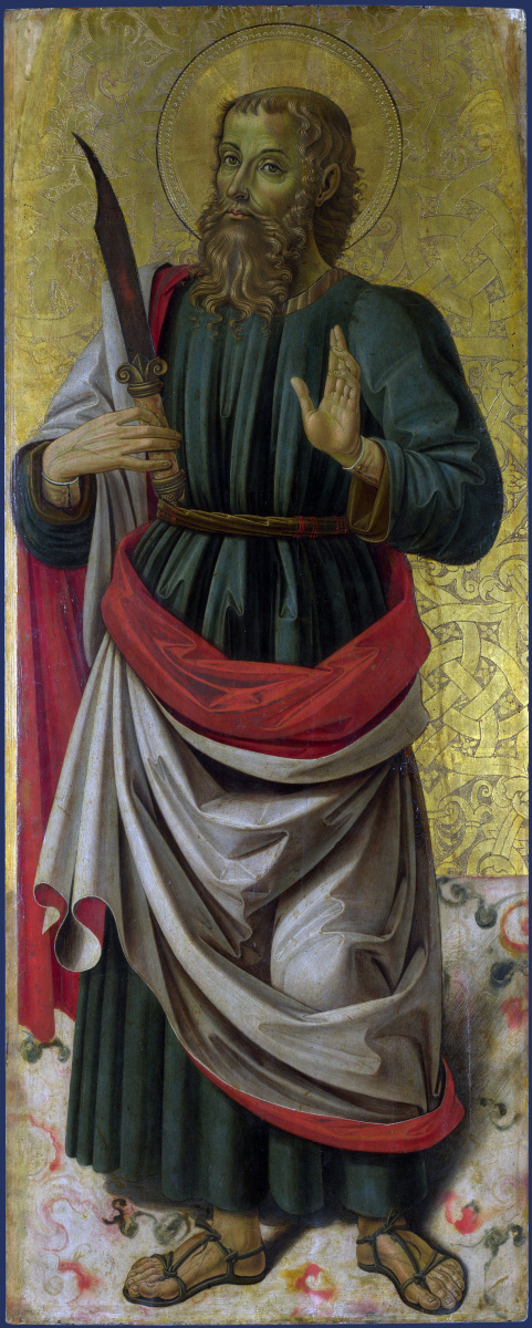 Бартоломео Капорали. Святой Варфоломей