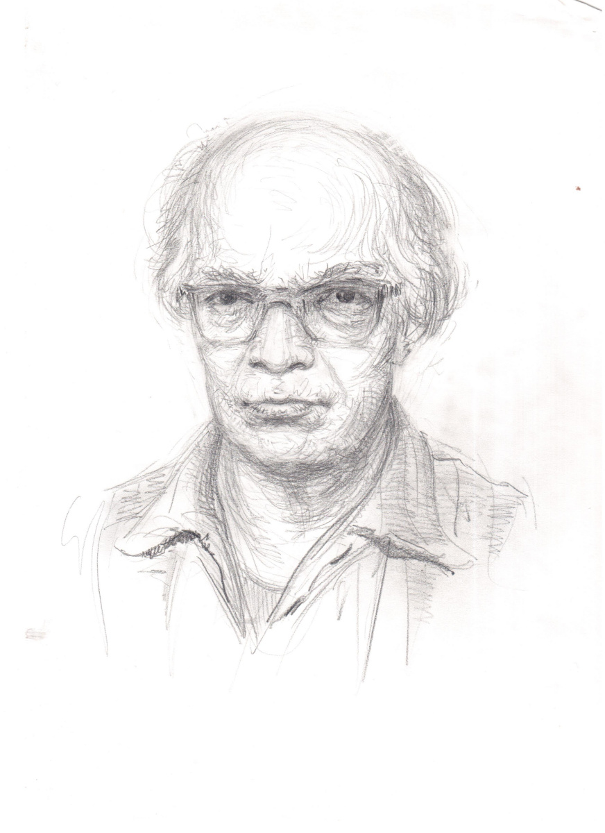 Аркадий Павлович Лаптев. Аркадий Лаптев. Автопортрет