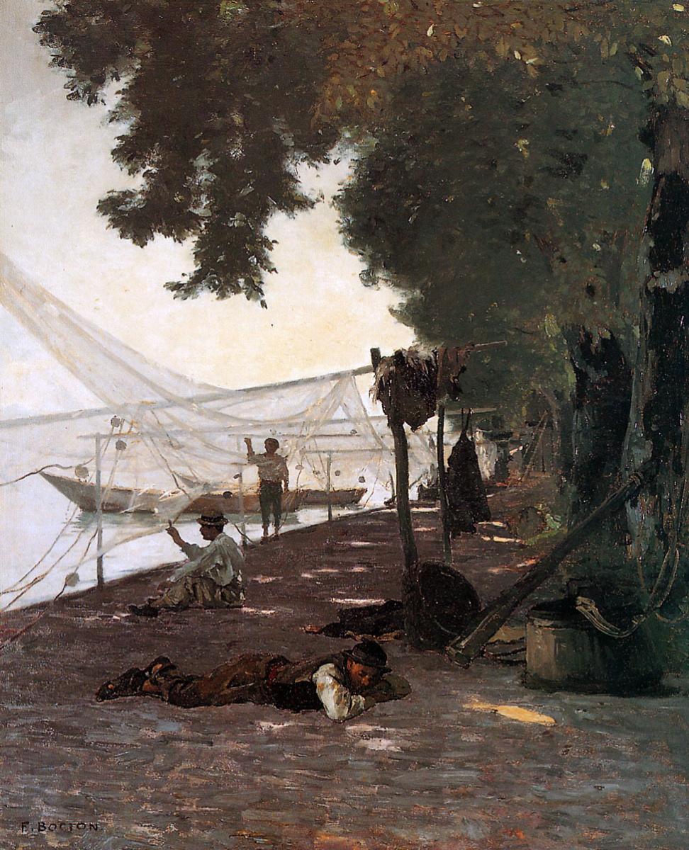 Франсуа Бокион. Рыбаки и их сети