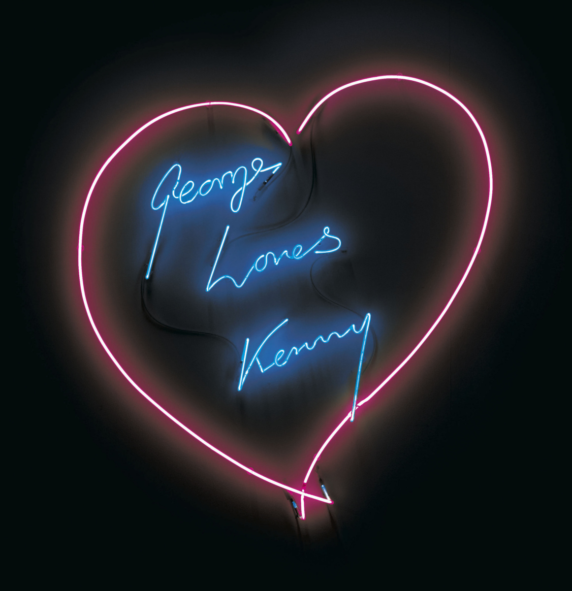 Tracey Emin. George Loves Kenny