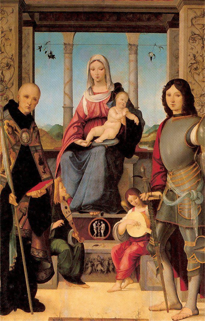Франческо Мапмитта. Мадонна с ребенком