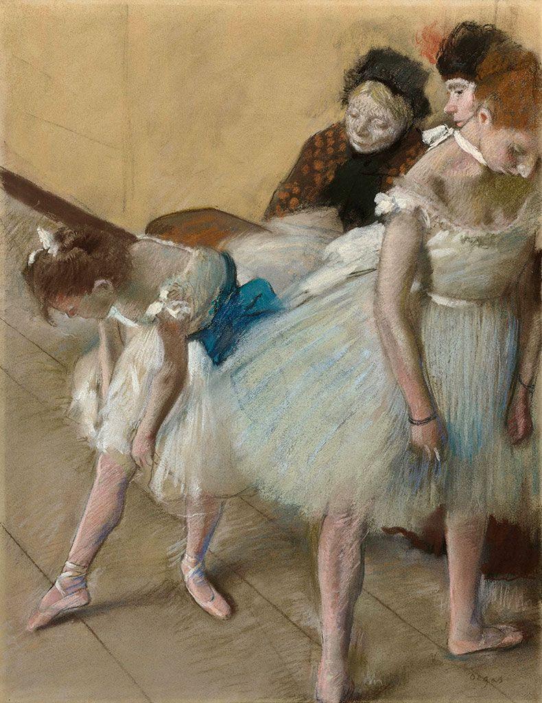 Edgar Degas. Exam dance