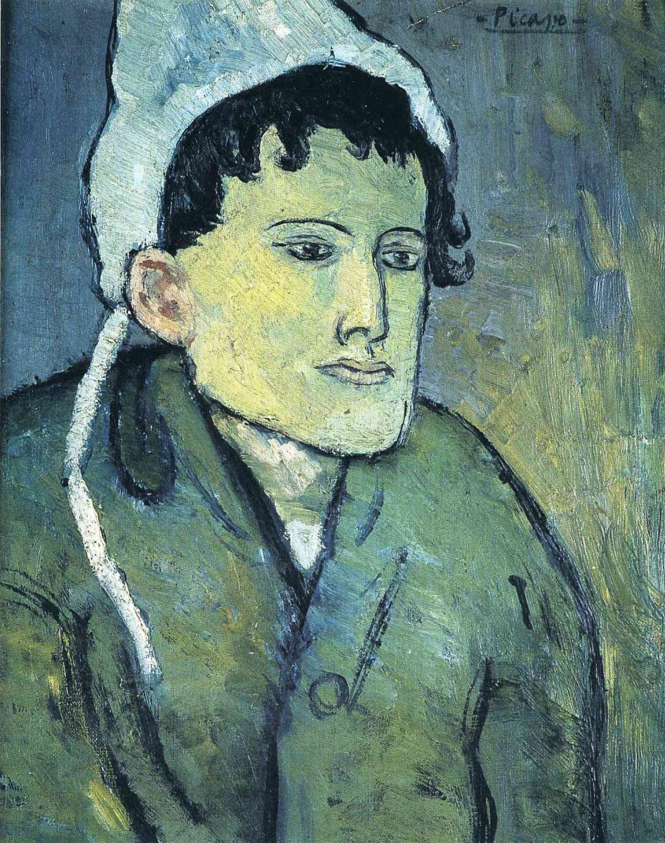 Пабло Пикассо. Женщина в чепце