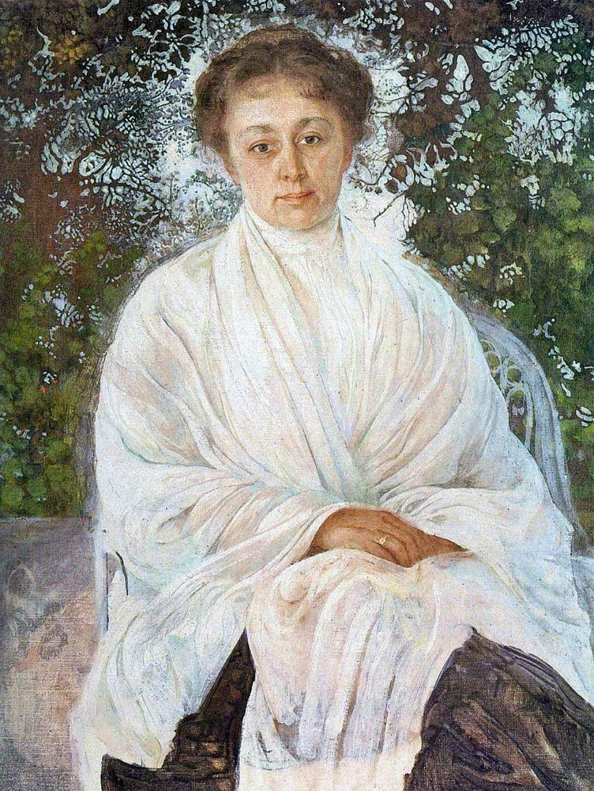 Исаак Израилевич Бродский. Портрет Марии Федоровны Андреевой