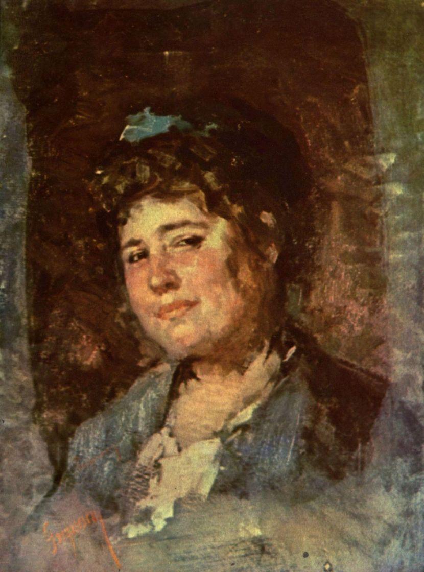 Николае Григореску. Женский портрет