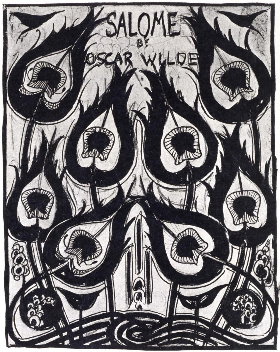 Обри Бердслей. Саломея (обложка)