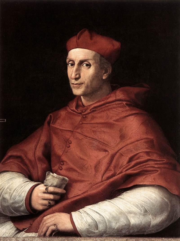 Рафаэль Санти. Портрет кардинала Биббиены