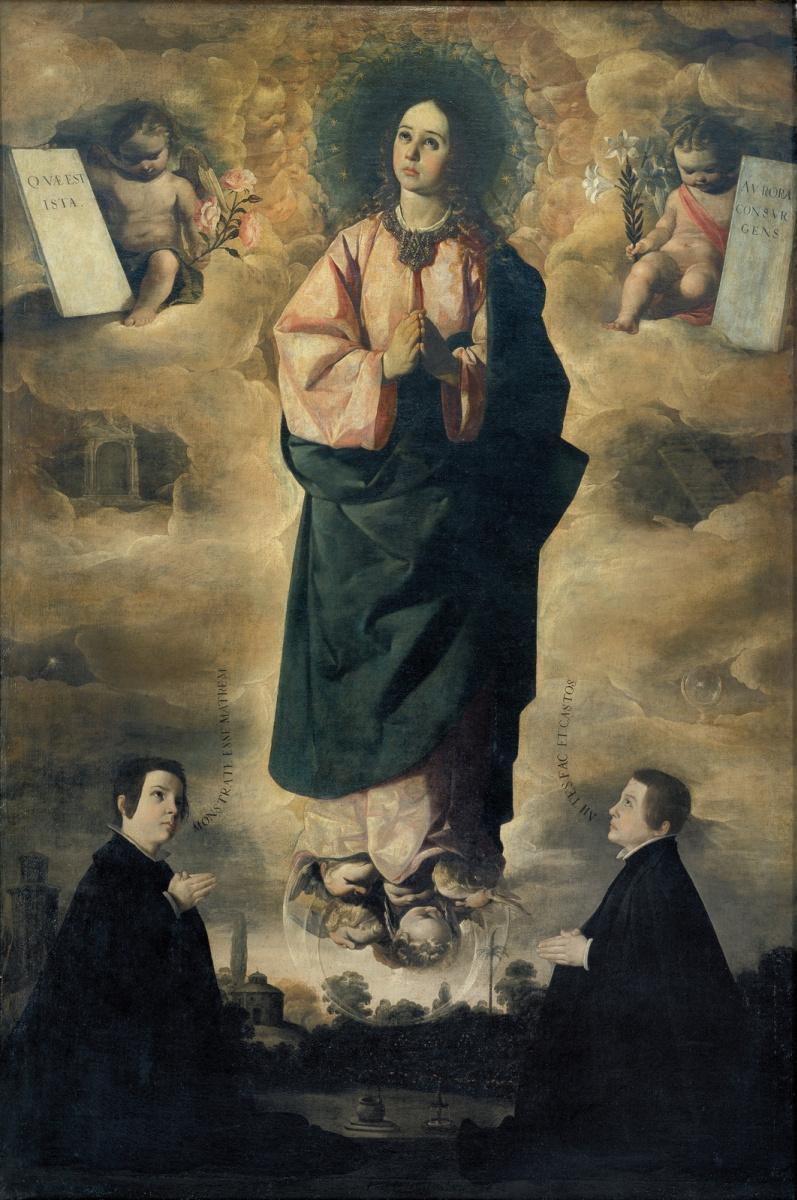 Франсиско де Сурбаран. Непорочное зачатие
